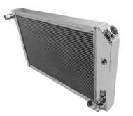 1977-1984 30 1//2 Inch Core GM Champion All-Aluminum 3 Row Core Radiator