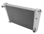 1973 1974 23 Inch Core GM Champion 3 Row Core Alum Radiator