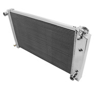 1971 1972 Chevy Brookwood Champion 3 Row Core Alum Radiator