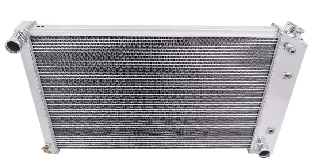 3 Row Core Shroud 2X12 Fan for 1973-93 Chevy C//K Series Pickup Truck CoolingCare Aluminum Radiator