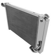 1969 70 71 72 Chevrolet Corvette Sm Block Champion 2 Row Core Aluminum Radiator