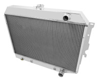 1968 69 70 71 72 73 74 Mopar with Hemi Engine 3 Row Core Alum Radiator