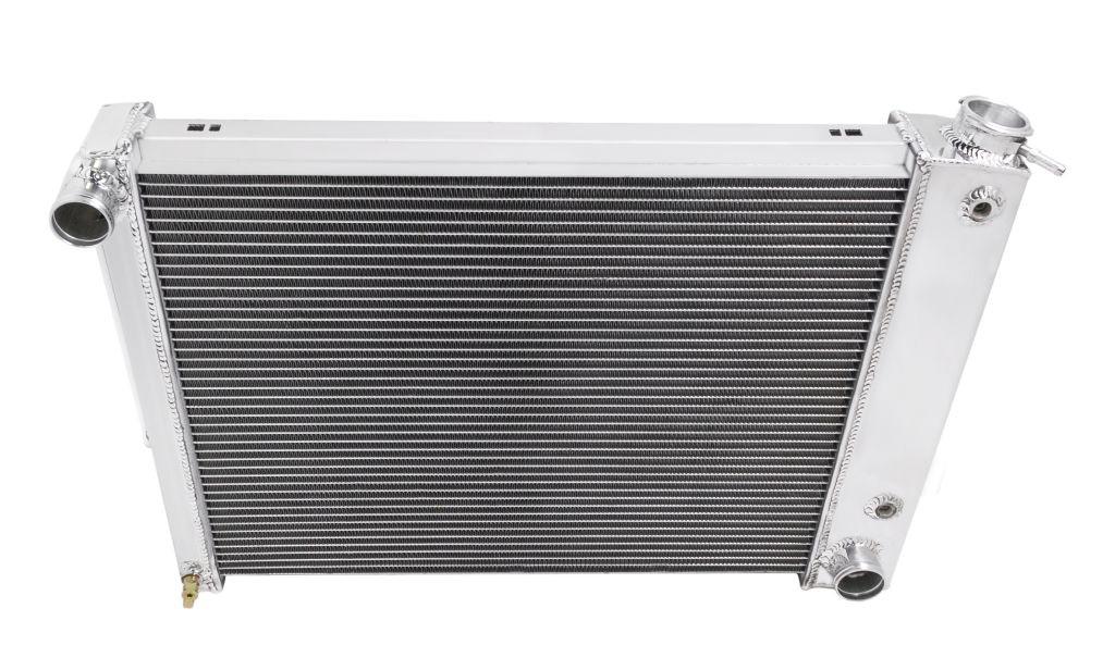 "1967-1969 Big Block Chevy Camaro Aluminum 2 Row 1/"" Tubes American Eagle Radiator"