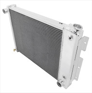1967 1968 1969 Camaro Small Block Champion 4-Row Core Aluminum Radiator