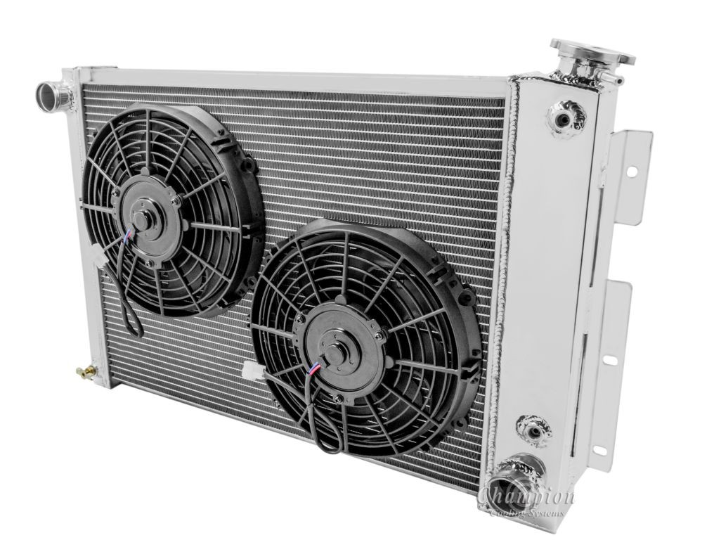 """Fits 370 Camaro Dual 10/"""" Radiator Fans,Chiller High Performance Fans /& Relay"""