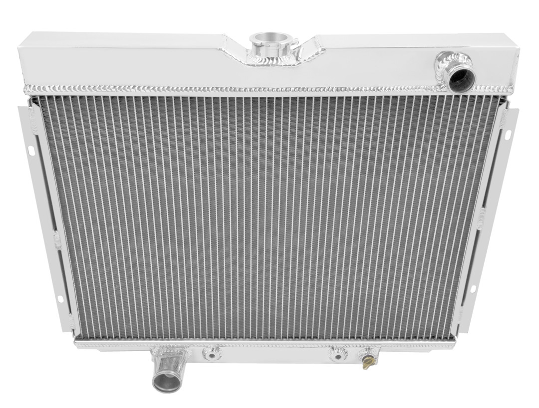 3 ROW ALUMINUM RADIATOR for 71 72 73 FORD MUSTANG COUGAR 69 70 71 TORINO