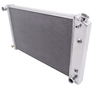 1965 1966, 1980 1981 Pontiac Catalina Champion 4-Row Core Alum Radiator