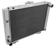 1964 Ford Galaxie 500XL Champion 3 Row Core Alum Radiator