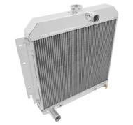 3 Row Aluminum Radiators - PLYMOUTH - Barracuda