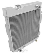1961 62 63 64 65 Econoline Low Drive / Up Pass 3 Row Core Alum Radiator