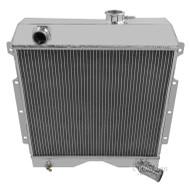 1954 55 56 57 58 59 60 61 62 63 64 Willys Truck and Wagon Champion 3 Row Core Aluminum Radiator