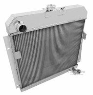 1953 1954 Dodge Champion 2 Row Core Alum Radiator