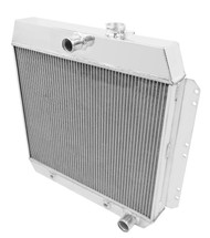 1949 50 51 52 53 54 Chevrolet Champion 3 Row Core Alum Radiator