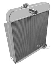 1949 1950 Plymouth Vehicles Champion 3 Row Core Alum Radiator