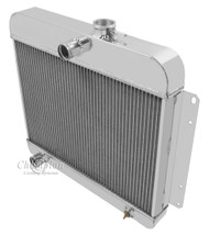 1946-1964 Jeep Willys Champion 3 Row Core Alum Radiator