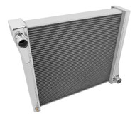 1941 Jeep Willys Champion 3 Row Core Alum Radiator