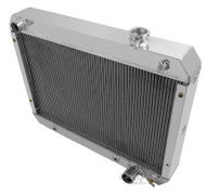 1962-1965 Chevrolet Nova  3 Row Champion Aluminum Radiator