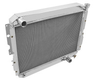 1987 1988 1989 Toyota Land Cruiser 3 Row All Aluminum Stock Replacement Radiator