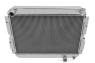 1989 1990 Toyota Land Cruiser Champion PRO Series 3 Row All Aluminum Radiator