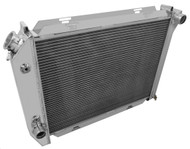 """1971 1972 1973 FORD MUSTANG 3 Row Champion Aluminum Radiator ** 26"""" Wide Core **"""