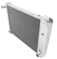 1980 1981 1982 1983 Oldsmobile Cutlass 3 Row Aluminum Radiator