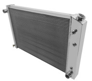1973-1978 1979 1980 1981-1991 Chevy Blazer / Jimmy 3 Row Aluminum Radiator