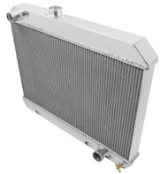 1965 1966 Pontiac GTO Champion 3 Row Aluminum Performance Radiator