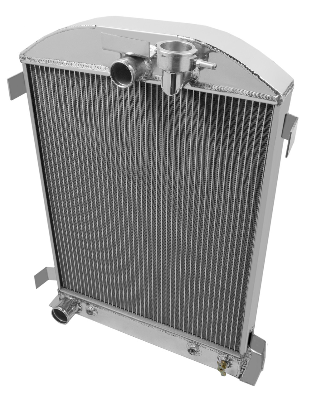 3 core aluminum radiator for 1932 Ford Chopped Cchevrolet engine auto new