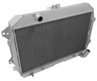 1974 1975 DATSUN 260Z Champion Pro 3 Row Radiator +Fans