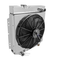 Aluminum Fan Shroud & Fan for 1960 - 1965 Mercury Comet (RADIATOR NOT INCLUDED)