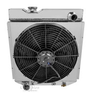 All Aluminum Fan Shroud & Fan for Radiator # 251 & 259 (RADIATOR NOT INCLUDED)