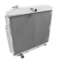 1953 1954 1955 1956 FORD F Series 3 Row Aluminum Radiator
