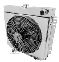1963-1977 Mercury All Aluminum Radiator, Shroud & Fan