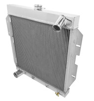 1955 1956 1957 Ford Thunderbird 3 Row Aluminum Radiator