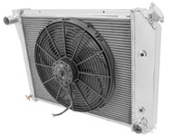 1981 1982 1983 Chevy Malibu Champion PRO Radiator + Fan