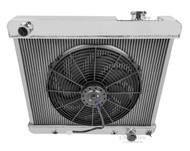 1964 1965 Oldsmobile F85 Champion Aluminum PRO Radiator + Fan