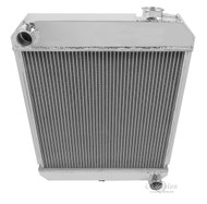1960 61 62 63 64 65 66 C/K Series Truck 2 Row Aluminum Radiator with 6L