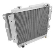 97 98 99 2000 01 02-06 Wrangler 3 Row Aluminum Radiator