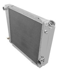 3 ROW Aluminum 66 67 68 69 70 71 72-77 Bronco Radiator 521