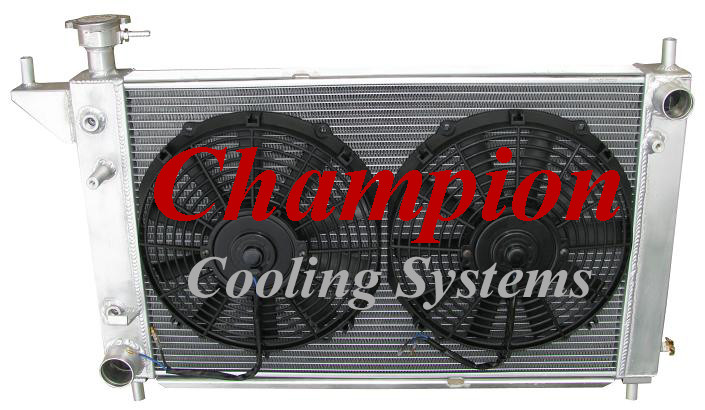 3 Row Performance Champion Radiator for 1979-1993 Ford Mustang