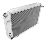 1984 85 86 87 88 Capri 3 Row Champion Radiator + Fans