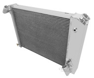1966 67 68 Corvette 3 Row Aluminum Champion Radiator