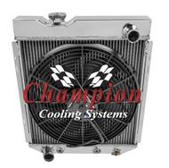 1961 1962 1963 1964 Murcury Comet V8 Conversion 3 Row Champion Radiator