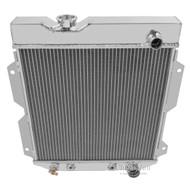 1961 62 63 64 65 Econoline Low Pass / Up Pass 3 Row Core Alum Radiator