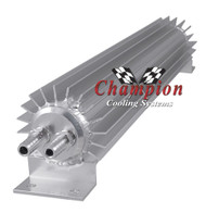 Champion Cooling 12in. Dual Pass External Transmission Cooler for Automatic