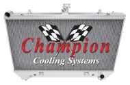 2010 2011 Chevrolet Camaro Champion 4 Row All Aluminum Radiator