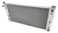 1999 2000 2001 2002 2003 2004 2005 2006 2007 2008 2009 2010 2011 Chevy Silverado 3 Row All Aluminum Performance Radiator