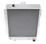 1958 Chevy Impala Champion 4-Row Core Aluminum Radiator