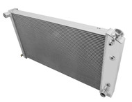 1977 Pontiac Safari Station Wagon Champion 3 Row Core Aluminum Radiator