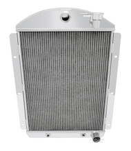 1941 1942 1943 1944 1945 1946 Chevy C/K Pickup 3 Row All Aluminum Radiator